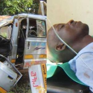 Ghastly Accident By Driver While Trying To Forcibly Kiss Passenger