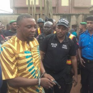 Photo : Police Arrest Badoo 's High Priest And Destroy Shrine