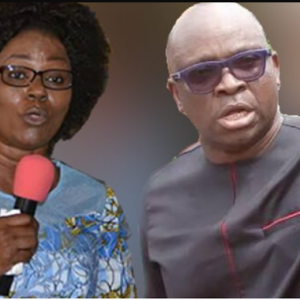 Oppose My Husband, Risk Divine Wrath, Fayose's Wife Warns Politicians