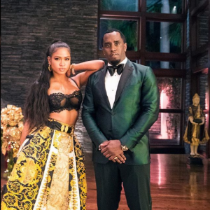 Diddy And Cassie Step Out In Style