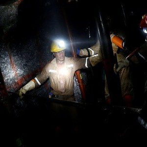 950 Trapped In A Gold Mine In South Africa