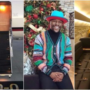 Photos : Boxer Floyd Mayweather Buys Himself A Jet For His Birthday