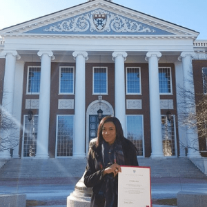Chika Ike Graduates From Harvard