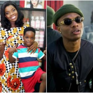 Wizkid's Babymama, Shola, Reveals How She Copes With Him Having More Babymamas