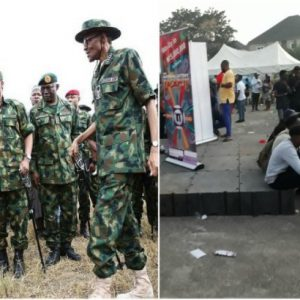 Army General Stops Party In Abuja Park Because He Wants To Sleep
