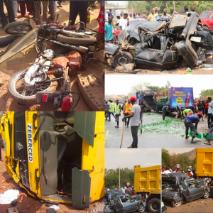 19 Vehicles Involved In A Fatal Accident In Abuja