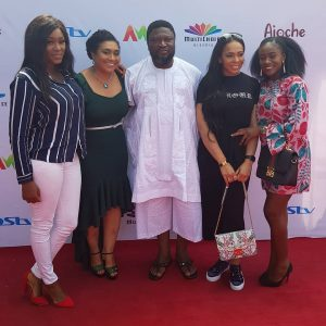 "PHOTOS: Lilian Afegbai, Hilda Dokuba, Femi Branch, Tboss At Private Screening Of Africa Magic's ""Ajoche"""