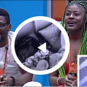 #BBNaija Tobi And Alex Caught Under Duvet | Watch Video