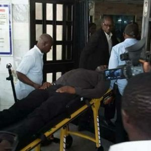 Sentor Dino Melaye Hurts Self As He Jumps Out Of Police Moving Vehicle
