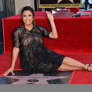 Pregnant Eva Longoria Gets Star On Hollywood Walk Of Fame