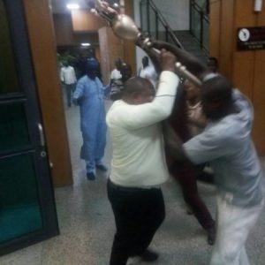 Update: Police Recover Stolen Senate Mace