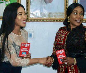 PHOTOS: Actress Tonto Dikeh Appointed NAPTIP Ambassador