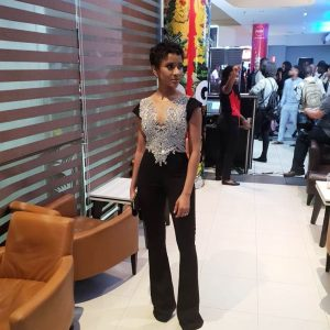 "Nollywood Actress Adesua Etomi And Banky W Attend The Premier Of ""Date Night"""