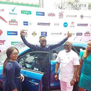 UPEDATE : #BBNaija 2018 Winner Miracle Igbokwe Has Gotten His Car and 25Million Naira Cheque