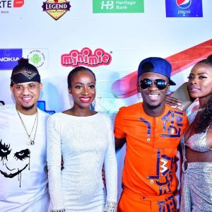 #BBNaija's: Rico, Anto, Lolu, Ifu And Khloe Turn Up At Homecoming Party