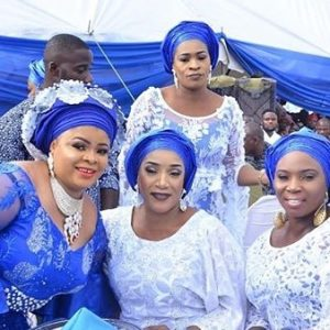 Photos: Actress Dayo Amusa's Father's Burial
