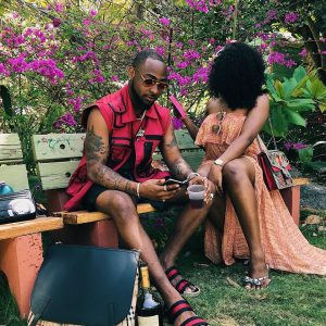 Super Singer | Davido And Girlfriend Chioma Vacation In Barbados