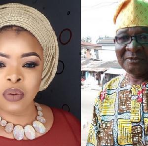 See Photo: Nollywood Actress Dayo Amusa Loses Dad…