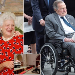 Former Pres. George Bush Rushed To Hospital A Day After Wife's Funeral