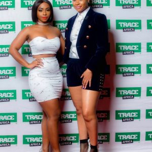 Pokello Nare And Boity Thulo Host Davido's #30BillionConcert In Zimbawe