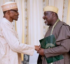 PHOTOS: Governor Okorocha Visits Pres. Buhari In Daura