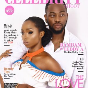 Reality Star's BamBam And Teddy A Cover The Celebrity Magazine's Love Edition