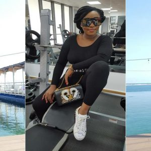 """Haters Will Say I Didn't Go To Gym"" – Actress Ini Edo Says As She Shows Of Her Figure"