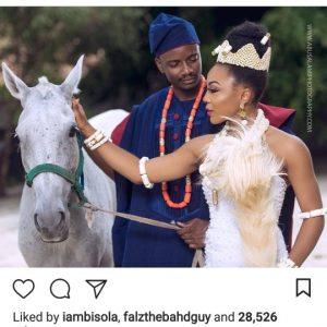 Reality Stars Ifu Ennada & Leo Dasilva Feature In Inter-Tribal Bridal Themed Photoshoot
