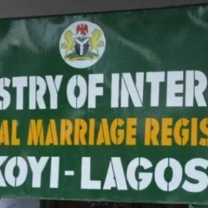 High Court Bar Ikoyi Registry From Conducting Weddings