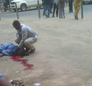PHOTO: Man Commits Suicide, Jumps From 5th Floor Of UCH, Ibadan