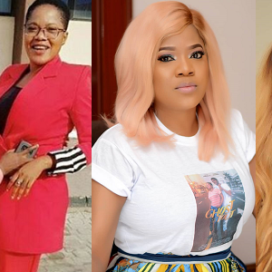 PHOTOS: This Is The Man Walking Actress Toyin Abraham Down The Aisle