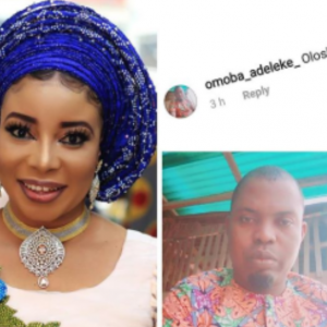 Liz Anjorin Blasts A Fan Who Called Her An Olosho