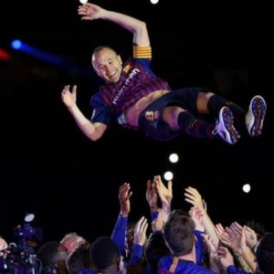 Barca Pays Tribute To Andres Iniesta has he Ends His Career At The Club