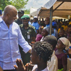 Senate Pres. Bukola Saraki Visit Abagana IDP Camp Welfare Facilities On Children's Day