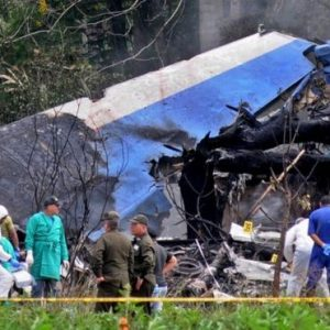 Plane Crash In Cuba Leaves Over 100 Dead…