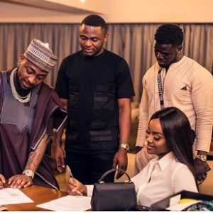 PHOTOS:  Davido Secure Cooking Show Deal For Chioma