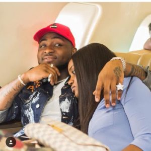 PHOTOS: Davido And Chioma Loved Up On A Private Jet To Sierra Leone
