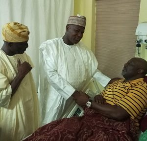UPDATE: Dogara, House Leaders Visit Sen. Dino Melaye In Hospital