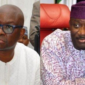 EKITI 2018: Fayose Reacts To President Buhari's Statement Over Fayemi's Victory