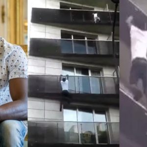 VIDEO: Immigrant Granted French Citizenship After Climbing 4 Floors To Rescue Dangling Child From Balcony