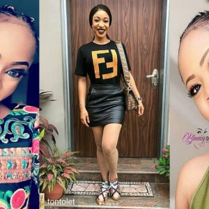 Reality Star Nina Blasts Those Criticizing Tonto Dikeh's Over 'Fake' Fendi T-shirt