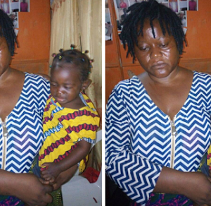 PHOTOS: Female Kidnapper Who Stole Baby At Mile 12 Market Arrested
