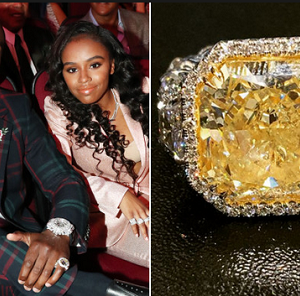 Floyd Mayweather Gifts Daughter 30-Carat Diamond Ring