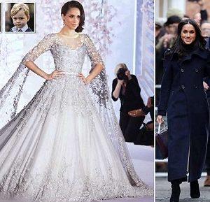 Royal Wedding:  Meghan Markle's £100,000 Wedding Dress Revealed