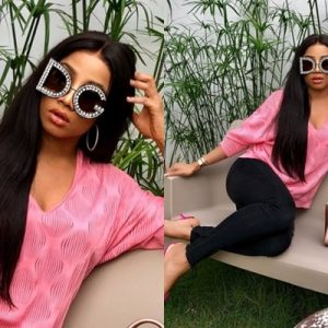 Toke Makinwa Writes On Her Road To Recovery…