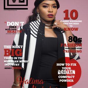 Actress Halima Abubakar Cover Magazine's May 2018 Edition