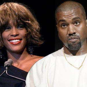 Kanye West Allegedly Spent $85K On Image Of Whitney Houston's Drug-Strewn Bathroom For Album Cover