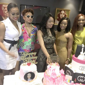 Beautiful Photos From Reality Star Nina's 22nd Birthday Photos…