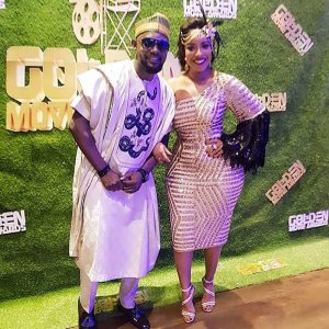 #GoldenMAA2018: Joselyn Dumas, Lydia Forson, Jackie Appiah, Tana Adelana Attend The GoldenMAA 2018