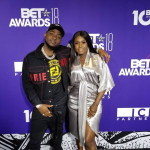 Photos Of Niniola And Davido Attend Pre-BET Events In Los Angeles